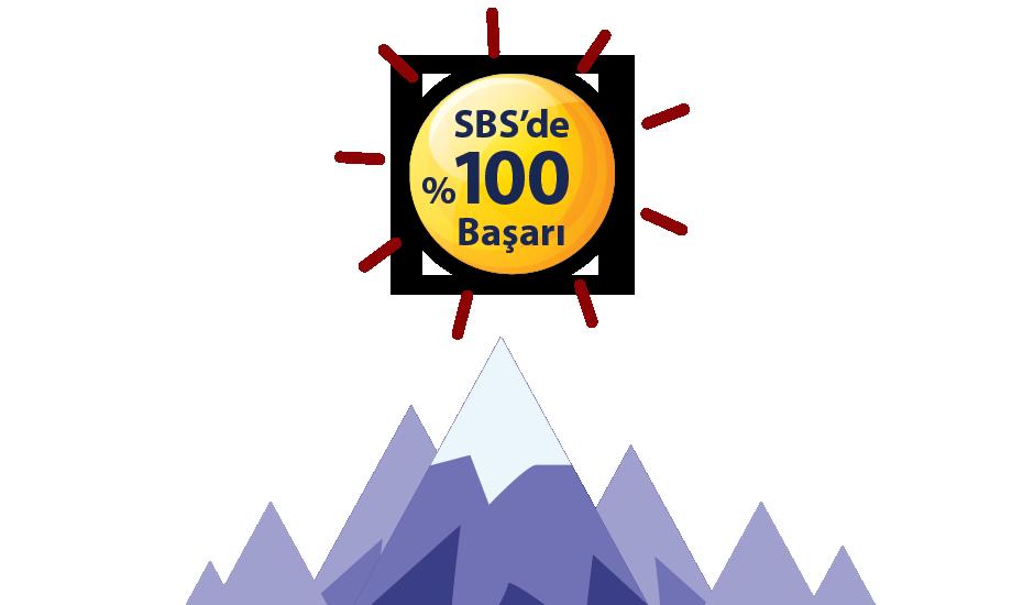 SBS'de %100 Başarı