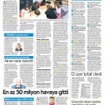 Cumhuriyet gazetesi 7.Sayfa